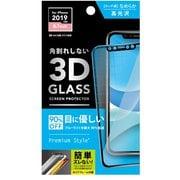 PG-19BGL03H [iPhone 11/XR用 3Dハイブリッドガラス ブルーライト低減]