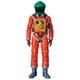 MAFEX SPACE SUIT GREEN HELMET & ORANGE SUIT Ver. [塗装済み可動フィギュア 全高約160mm]