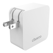 CHE-327-WH [cheero 2 port PD Charger (PD 18W+USB) ホワイト]