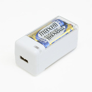BJ-USBSS WH [乾電池式USB充電器高出力1Aステックタイプ電池付]