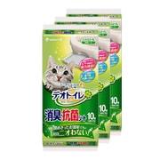 【限定品】デオトイレ消臭・抗菌シート10枚×3個パック入り