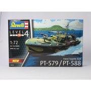 05165 PTボート PT-588/579 魚雷艇 [1/72スケール プラモデル]