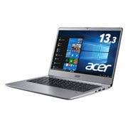 SF313-51-A34Q/F [Core i3-8130U/4GB/128GB SSD/ドライブなし/13.3型/Windows 10 Home/Office Home & Business 2019/スパークリーシルバー]