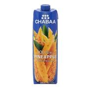 CHABAA100%ジュース パイナップル 1000ml