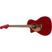 Newporter Player LH, Walnut Fingerboard, Candy Apple Red