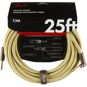 Deluxe Series Instruments Cable, Straight/Straight, 5', Tweed