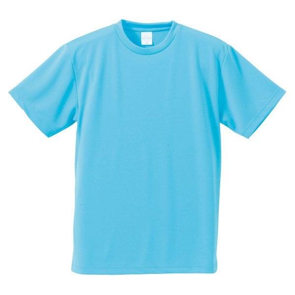 590001-0083 L [4.1オンス ドライアスレチック Tシャツ アクアブルー Lサイズ]
