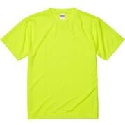 590001-0111 L [4.1オンス ドライアスレチック Tシャツ 蛍光イエロー Lサイズ]