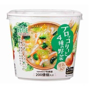 VEGE MISO SOUP ブロッコリーと4種の野菜 1食