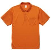 591201-0064 S [4.1オンス ドライアスレチック ポロシャツ (ポケット付) オレンジ S]