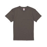 500101-0007 M [5.6オンス ハイクオリティー Tシャツ チャコール Mサイズ]