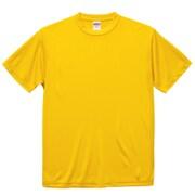 508801-0190 S [4.7オンス ドライシルキータッチ Tシャツ(ノンブリード) カナリアイエロー Sサイズ]