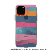 DS17231i58R [iPhone 11 Pro ソフトクリアケース PINK SONG STR iPhone E]