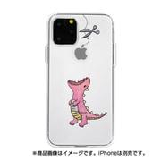 DS17233i58R [iPhone 11 Pro ソフトクリアケース ファンタジー ハラペコザウルスPK]