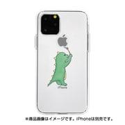 DS17234i58R [iPhone 11 Pro ソフトクリアケース オエカキザウルスGR]