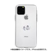 DS17256i58R [iPhone 11 Pro ソフトクリアケース ミニ動物 ペンギン]