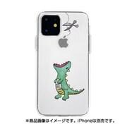 DS17261i61R [iPhone 11 ソフトクリアケース ファンタジー ハラペコザウルスGR]