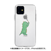 DS17263i61R [iPhone 11 ソフトクリアケース オエカキザウルスGR]