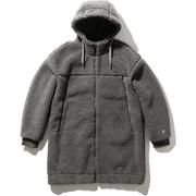 ブローストッパーファイバーパイルサーモコート Blow Stopper FIBERPILE THERMO Coat HOE51951 (ZC)ミックスチャコール Lサイズ [アウトドア フリース メンズ]