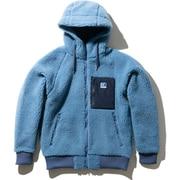 FPT HOODIE HOE51964 (QB)クワイエットブルー XLサイズ [アウトドア フリース メンズ]
