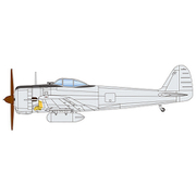 PDR-7 陸軍一式戦闘機 隼 I型 2機セット [1/144スケール プラモデル]