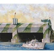 SW05 ブンカー ドイツ海軍 Sボート・Uボート基地 [1/700スケール プラモデル]