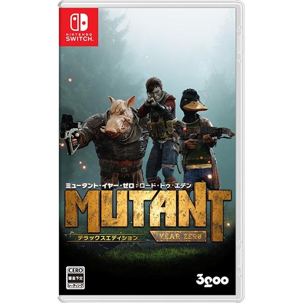 ミュータント・イヤー・ゼロ:ロード・トゥ・エデン デラックスエディション [Nintendo Switchソフト]