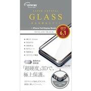 V-82406 [iPhone 11/XR ガラス 3D ブラック]