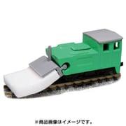 12512 [Nゲージ レールクリーニングカー モップ君 T車/車体色:青緑]