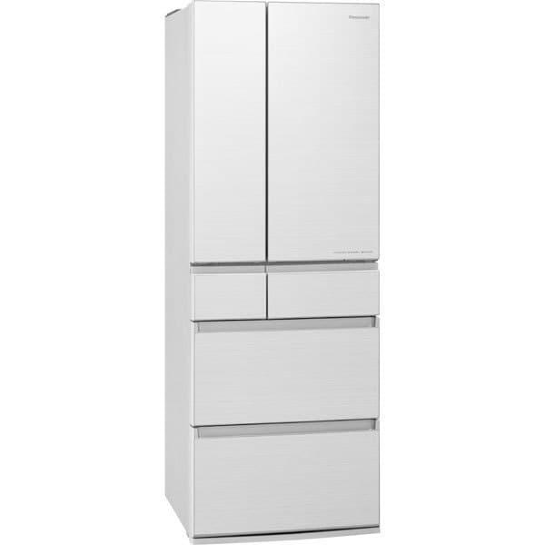 NR-F505HPX-W [パーシャル搭載冷蔵庫(500L・フレンチドア)6ドア エコナビ/ナノイーX搭載 アルベロホワイト]