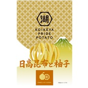 KOIKEYA PRIDE POTATO 日高昆布と柚子 60g