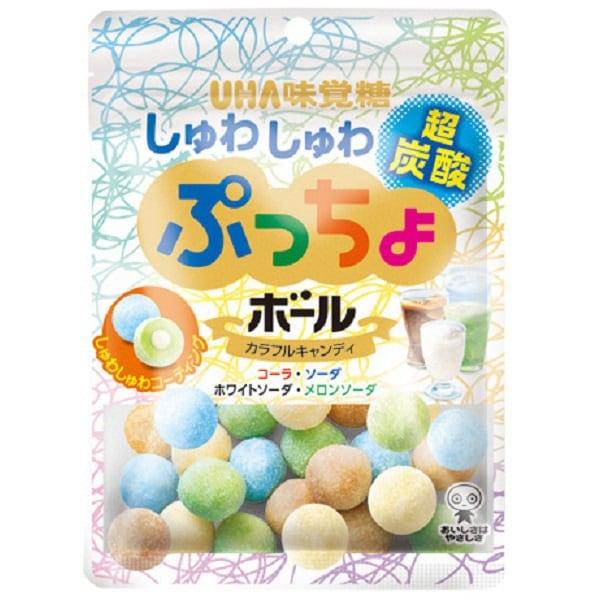 ぷっちょボール しゅわしゅわ炭酸アソート 50g