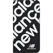 74341-1 iPhone 11 Pro New Balance [スリム手帳ケース スタンプロゴ ブラック]