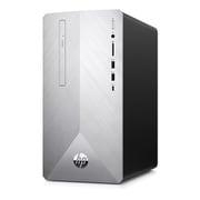 6DW32AA-AAFG HP Pavilion 595-p0000 G1モデル [Core i7-9700F/メモリ 16GB/Windows 10 Pro 64bit/256GB+2TB/Office Home & Business 2019/ブラッシュドシルバー]