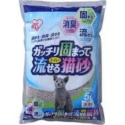 GTN-5L [ガッチリ固まってトイレに流せる猫砂 5L]
