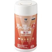 WC-JU60N2 [ウェットティッシュ 汚れ落とし 強力 ボトル 60枚]