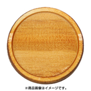 WP-022 ミニチュアパーツ 丸皿C SS 2個入り [木製ミニチュア素材]