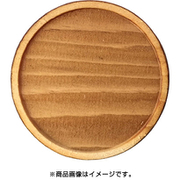 WP-024 ミニチュアパーツ 丸皿C M 1個入り [木製ミニチュア素材]