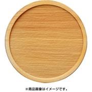 WP-025 ミニチュアパーツ 丸皿C L 1個入り [木製ミニチュア素材]