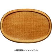 WP-030 ミニチュアパーツ 楕円皿C SS 2個 [木製ミニチュア素材]