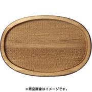 WP-031 ミニチュアパーツ 楕円皿C S 2個入り [木製ミニチュア素材]