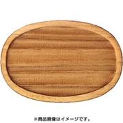 WP-032 ミニチュアパーツ 楕円皿C M 1個入り [木製ミニチュア素材]
