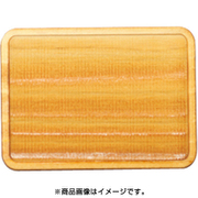 WP-046 ミニチュアパーツ トレー 長方形A S 1個 [木製ミニチュア素材]