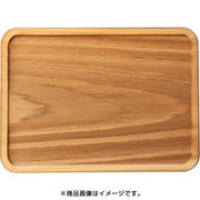 WP-048 ミニチュアパーツ トレー 長方形A L 1個 [木製ミニチュア素材]
