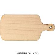 WP-074 ミニチュアパーツ カッティングボードB L 1個 [木製ミニチュア素材]
