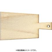 WP-078 ミニチュアパーツ カッティングボードE L 1個 [木製ミニチュア素材]