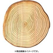 WP-081 ミニチュアパーツ カッティングボード丸太 M 1個 [木製ミニチュア素材]