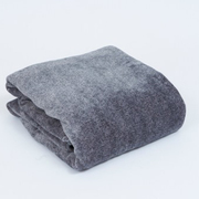 YKK-F40-SGY [フランネル掛敷電気毛布]