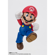 S.H.Figuarts マリオ(New Package Ver.) [塗装済み可動フィギュア 全高約100mm]
