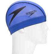 フリップターンズメッシュキャップ Flip TurnS Mesh Cap SE11902 (BK)ブルー×ブラック Lサイズ [スイミングキャップ]